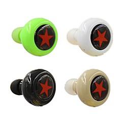 bluetooth v3.0 in-ear stereo hodetelefoner med mikrofon for 6/5 / 5s samsung s4 / 5 htc lg og andre
