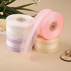 Gorgeous Wedding Ribbons Satin and Organza Ribbon(More Color) Wedding Reception