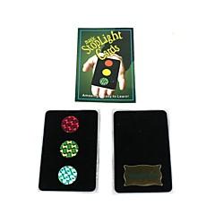 magic rekvisiitta - merkkivalo liikennevalot kortti