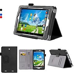 dengpin pu lær 8 tommers stativ tablett tilfelle dekke med hånden holder og kortspor for Acer Iconia Tab 8 w w1-810