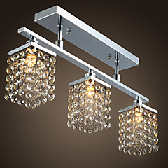 Lightinthebox Podtynkowy Światło rozproszone Chrom Metal Kryształ 110-120V / 220-240V / G9