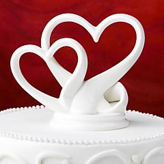 mooie cake topper keramiek met geschenkdoos elegante bruiloft receptie