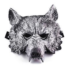Halloweenské masky Masky maškarní Hračky Vlčí hlava Horor Téma 1 Pieces Chlapecké Dívčí Halloween Plesová maškaráda Dárek
