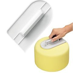 baratos Utensílios para Confeitaria-Ferramentas bakeware Plástico Bolo Moldes de bolos 1pç