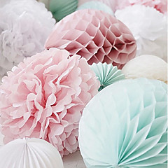 Parelpapier Wedding Decorations-4piece / Set Lente Zomer Herfst Winter Niet-gepersonaliseerd