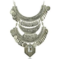 colar declaração cigana jóias boho moeda colar -étnico n1799 colarinho tribal