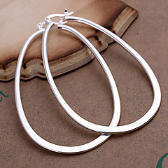Women's Hoop Earrings Fashion Statement Jewelry Costume Jewelry Copper Silver Plated Geometric Jewelry For Party Daily Casual