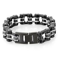 cheap Men's Jewelry-Men's Cute Bike Bracelet - Vintage / Party / Work Screen Color Ring For Daily