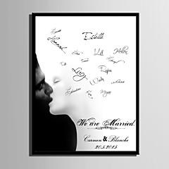 cheap Guest Book & Pen Sets-Signature Frames & Platters Paper Garden Theme WeddingWithPattern Wedding Accessories
