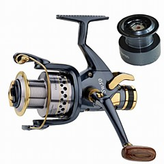 cheap Fishing Reels-Fishing Reel Carp Fishing Reels 5.2:1 Gear Ratio+10 Ball Bearings Exchangable Sea Fishing Spinning Freshwater Fishing Trolling & Boat