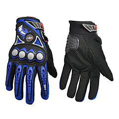 baratos Luvas de Motociclista-Motos luvas Dedo Total Poliuretano/Náilon/Lycra L/XL Vermelho/Preto/Azul