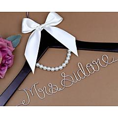 כלה שושבינה נערת פרחים זוג עץ Aluminum Alloy מתנה יצירתית חתונה