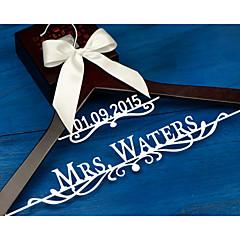 tanie Prezenty dla druhen-Narzeczona Para Noszący pierścień Rodzice Drewniany Aluminum Alloy Pomysłowy Upominek Ślub