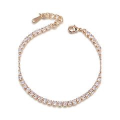 Žene Tenis Narukvice Kristal Kristal Kubični Zirconia Legura Jewelry 1pc