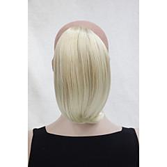 זול קוקו-נתפס עם קליפס קוקו שיער סינטטי חתיכת שיער הַאֲרָכַת שֵׂעָר ישר