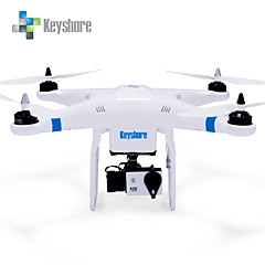billige Fjernstyrte quadcoptere og multirotorer-RC Drone Keyshare Glint-pro+ 7CH 2.4G Fjernstyrt quadkopter En Tast For Retur Feilsikker Flyvning Med 360 Graders Flipp Tilgang Real-Tid