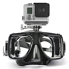 cheap Sports Action Cameras & Accessories  For Gopro-Goggles Diving Masks Mount / Holder For Action Camera All Gopro Gopro 5 Gopro 4 Session Gopro 4 Gopro 3 Gopro 3+ Gopro 2 Gopro 1 Sports