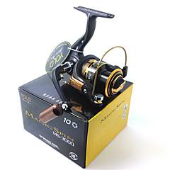 YOLO MS3000 5.1:1 10 Ball Bearings Magic Spin Aluminum Spool Computer Balanced Spinning Reel