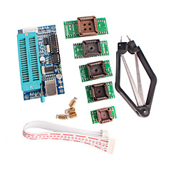 cheap -PIC K150 Programmer USB Automatic Programming with PLCC IC Testing Seat Adapter Kit for Develop Microcontroller