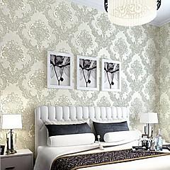 billige Tapet-Blomstret Hjem Dekor كلاسيكي Tapetsering, Ikke vævet papir Materiale selvklebende nødvendig bakgrunns, Tapet