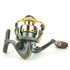 זול גלילי דיג-גלגלת לדיג בקרח / גלילי דיג גלגלת לדיג בקרח 5.2:1 12 מיסבים כדוריים ניתן להחלפההטלת פיתיון / דיג קרח / Spinning / דייג במים מתוקים / אחר