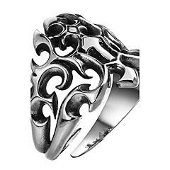 Herre Knokering Smykker Punkestil Personalisert Rustfritt Stål Legering Geometrisk Form Eagle Smykker Til Halloween Gate