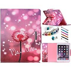 erityinen muotoilu uutuus folio tapauksessa PU nahka värillinen piirros tai kuvio kotelo ipad mini4 Mini3 / 2/1