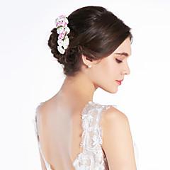 Χαμηλού Κόστους Κοσμήματα για τα Μαλλιά-Κρύσταλλο / Ύφασμα / Χαρτί Τιάρες / Κεφαλές / Λουλούδια με 1 Γάμου / Ειδική Περίσταση / Πάρτι / Βράδυ Headpiece