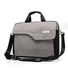 お買い得  ラップトップ用バッグ-MacBook / HP /ソニーのためのファッション大容量15.6インチのラップトップブリーフケース防水耐衝撃ショルダーハンドルバッグ