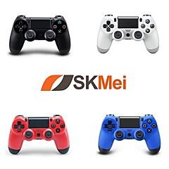 baratos -Sem fio bluetooth controlador de jogo para sony ps4, jogo de alça / controlador de jogo recarregável abs 1 pcs unidade
