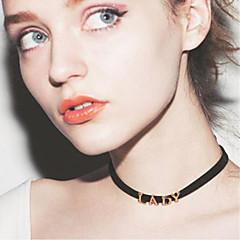 Χαμηλού Κόστους Κολάρα-Γυναικεία Κολιέ Τσόκερ - αρχική Κοσμήματα Χρώμα Οθόνης Κολιέ Κοσμήματα Για