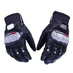 baratos Luvas de Motociclista-Luvas de corrida de motocicleta de dedo cheio à prova de skates mcs-01a pro-biker