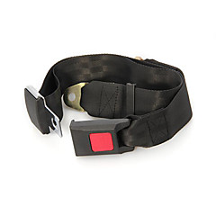 Black Universal Adjustable Lap Belt Car Truck Two Point Safety