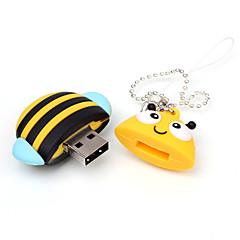 만화 꿀벌 동물의 USB 플래시 드라이브 16기가바이트