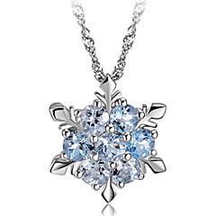 Žene Ogrlice s privjeskom Pahulja Sintetički gemstones Plastika Kristal Moda Jewelry Za Party Dnevno Kauzalni