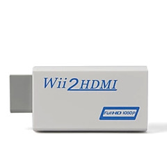 wiiの2hdmiのconvereter