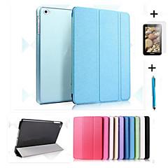 iPad (2017) älykäs, nahka kotelo + PC läpikuultava takaisin iPadille ilman air2 pro 9.7 ipad 2/3/4 mini 123 mini4