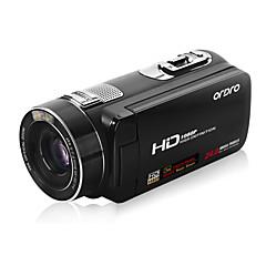 """ordro® HDV-z80 1080p videokamera / 120x digital zoom&10x optisk zoom / 3 """"berørings tft-skjerm"""