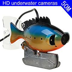halradar víz alatti kamera 50m kábel CCD színes kamera víz alatti videó halászati kamera 3w led