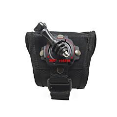 tanie Kamery sportowe i akcesoria GoPro-Statyw Wiązanie 3D Wygodny Dla Action Camera Wszystko Gopro 5 Gopro 4 Black Gopro 4 Gopro 3+ Sport DV Univerzál Wspinaczka górska Rower