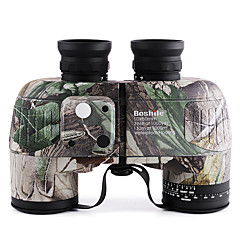 Boshile 10X50 mm Binoculars Waterproof Roof Prism BAK4 Fully Multi-coated 132m/1000m Independent Focus