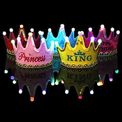 Bridal Shower / Baby Shower / Verjaardag / Kerstmis Party Accessoires 1Stuk/Set Hoeden / Kostuumaccessoire / LED verlichting Geweven Stof