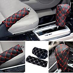 cheap Car Shift Knobs-ZIQIAO Hand Brake Case & Gear Shift Case Car Interior Accessory 2PCS/Set