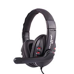 billiga Over-ear-hörlurar-OVLENG Över örat / Headband Kabel Hörlurar Plast Mobiltelefon Hörlur mikrofon headset