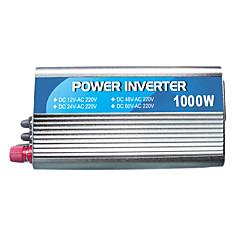 저렴한 -USB와 220V하는 1,000w 전원 인버터 12v24v