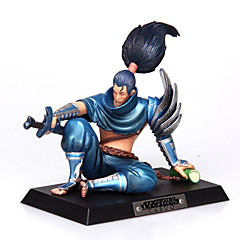 League of Legends Yasuo PVC: unforgiven12cm anime toimia lukuja nukke lelut malli