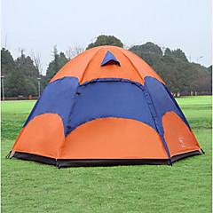 Sheng yuan 3-4 persoane Cort Dublu Cort de campare O cameră Cort Pliant Anti-Insecte Respirabilitate Supradimensionat pentru Drumeție