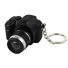 LED - Beleuchtung / Schlüsselanhänger Kamera-Form Spezialmodell / Modisch Schlüsselanhänger Schwarz Plastik