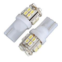 billige Interiørlamper til bil-2stk 4w t10 LED pærer for Cruze bil førte bredde lys W5W ledet leselys W5W innvendig LED lys hvit farge