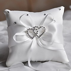 Ring Pillow Satin Asian Theme / Classic Theme / Fairytale Theme / Butterfly ThemeWithBow / Rhinestones